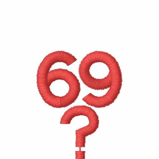 UM LOGOTIPO 69? Camisa bordada Moleton Bordado
