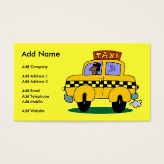 Um negócio/cartão de visita customizáveis do táxi cartão de visitas