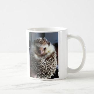 Um ouriço bonito caneca de café