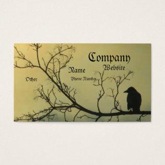 Um pássaro cartão de visitas