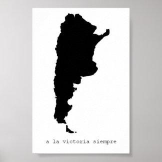 um poster do siempre de victoria do la