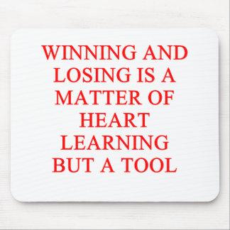 um provérbio inspirado do sucesso mousepad