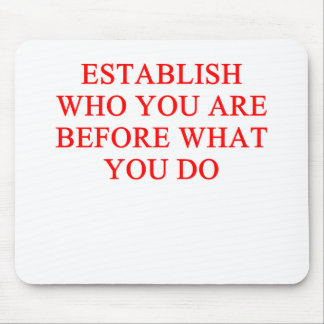 um provérbio inspirado do sucesso mouse pads