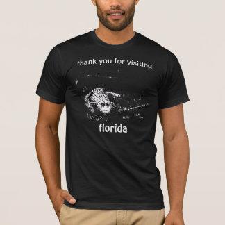 um t-shirt o mais incomum da lembrança das férias
