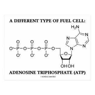 Um tipo diferente da célula combustível (ATP) Cartão Postal