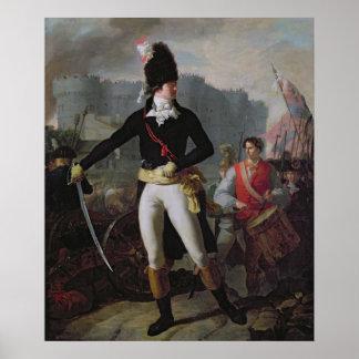 Um vencedor do Bastille o 14 de julho de 1789 Posteres