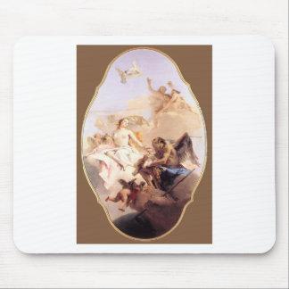 Uma alegoria com Venus e tempo Giovanni Battista Mouse Pad