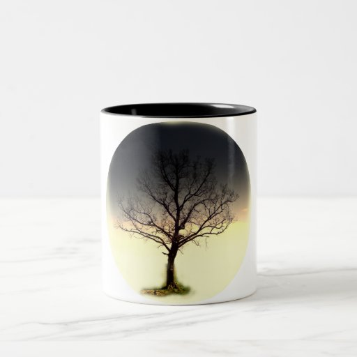 Uma árvore caneca