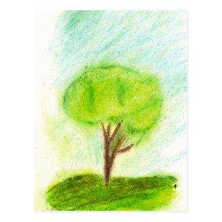 Uma árvore cartão postal