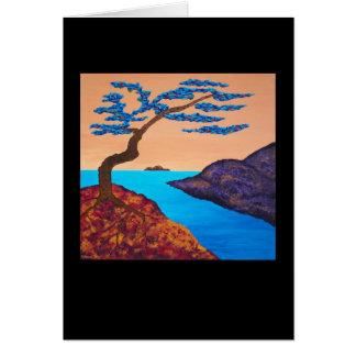 """""""Uma árvore para Trudy três"""", cartão de nota"""