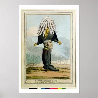 Uma bota de Wellington - ou a cabeça do Armye, Poster