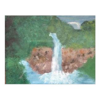 Uma cachoeira cartão postal