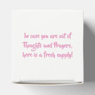 Uma caixa dos pensamentos e das orações!