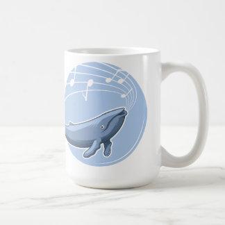 Uma canção da baleia caneca de café
