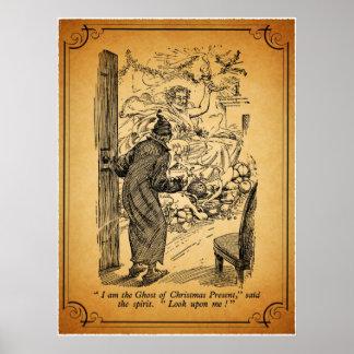 Uma canção de natal do Natal: O fantasma do Poster