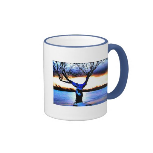 Uma caneca da árvore