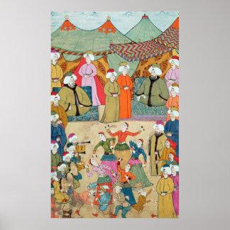 Uma dança para o prazer da sultão Ahmet III Poster