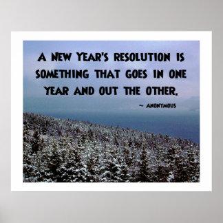 Uma definição de ano novo… Poster
