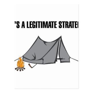 Uma estratégia legítima cartão postal