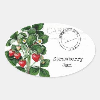 Uma etiqueta maravilhosa para personalizar seu adesivo oval