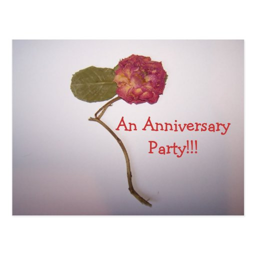Uma festa de aniversário!!! cartão postal