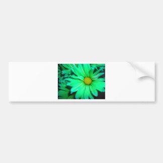 Uma flor verde adesivos