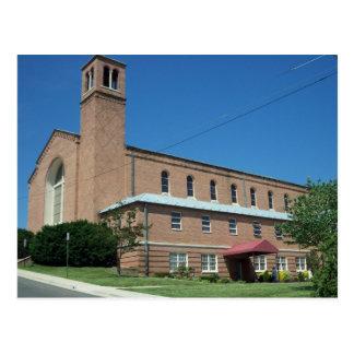 Uma igreja Católica Cartão Postal