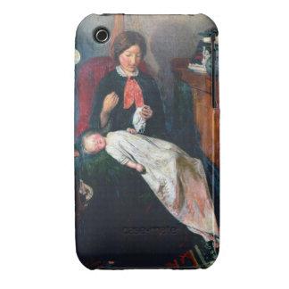 Uma lareira inglesa de 1854-5 capinhas iPhone