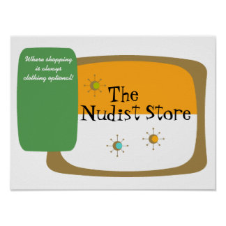 Uma loja para nudistas A LOJA do NUDISTA Poster