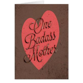 Uma mãe de Badass Cartões
