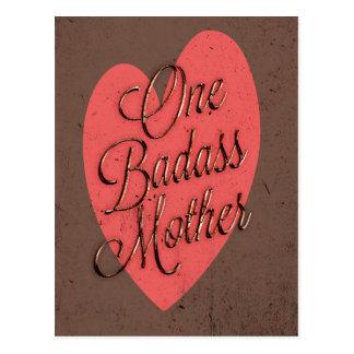 Uma mãe de Badass Cartão Postal