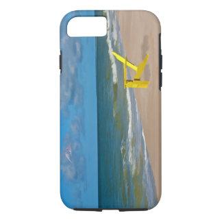 Uma praia em algum lugar e cadeira de praia capa iPhone 8/7