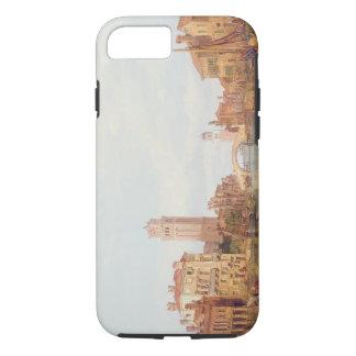 Uma vista de Verona, 1848 (óleo em canvas) Capa iPhone 8/7
