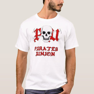 União dos piratas camiseta