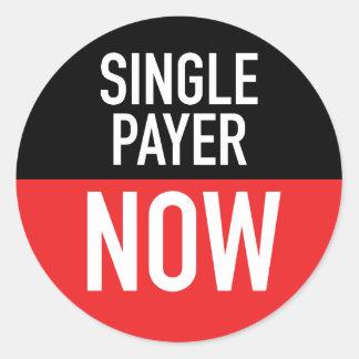Única do pagador etiqueta agora
