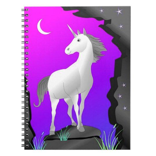 Unicórnio Cadernos Espiral