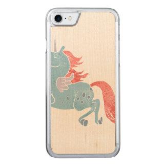 Unicórnio Pegasus Capa iPhone 7 Carved