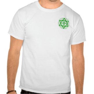 Unidade judaica (logotipo pequeno) t-shirts