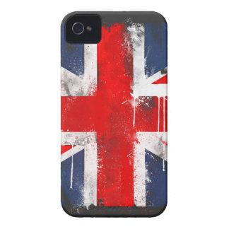 Union Jack - caixa corajosa de Blackberry