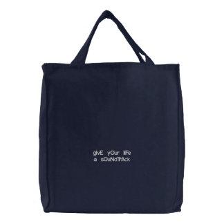 Universal bag Give your á life soundtrack Bolsas