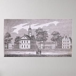 Universidade de Harvard, 'de histórico Pôster