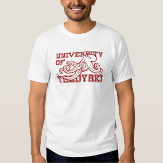 Universidade do t-shirt de Takoyaki