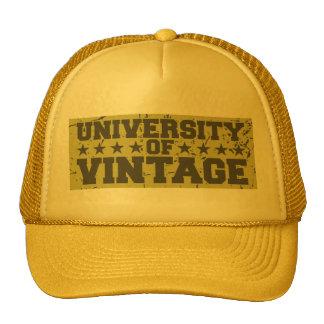 Universidade do vintage boné