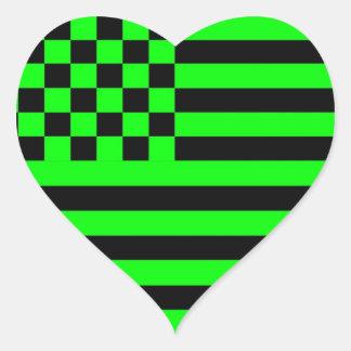 Universidade inversa G da bandeira 1 Checkered ame Adesivo