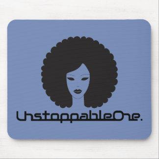 UnstoppableOne Femme Mousepad - azul