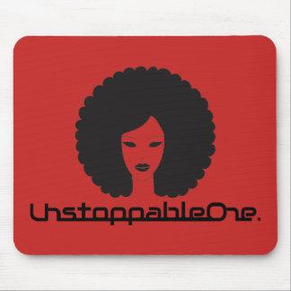 UnstoppableOne Femme Mousepad - vermelho