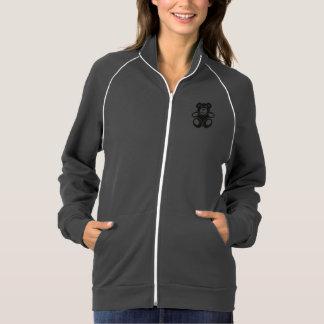 Ursinho bonito com um sorriso jaqueta com estampa