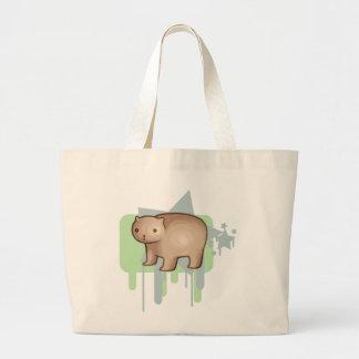 Urso carnudo sacola tote jumbo