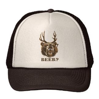 Urso, cervos ou cerveja boné