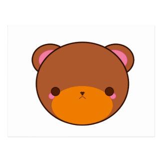 Urso de Kawaii Cartão Postal